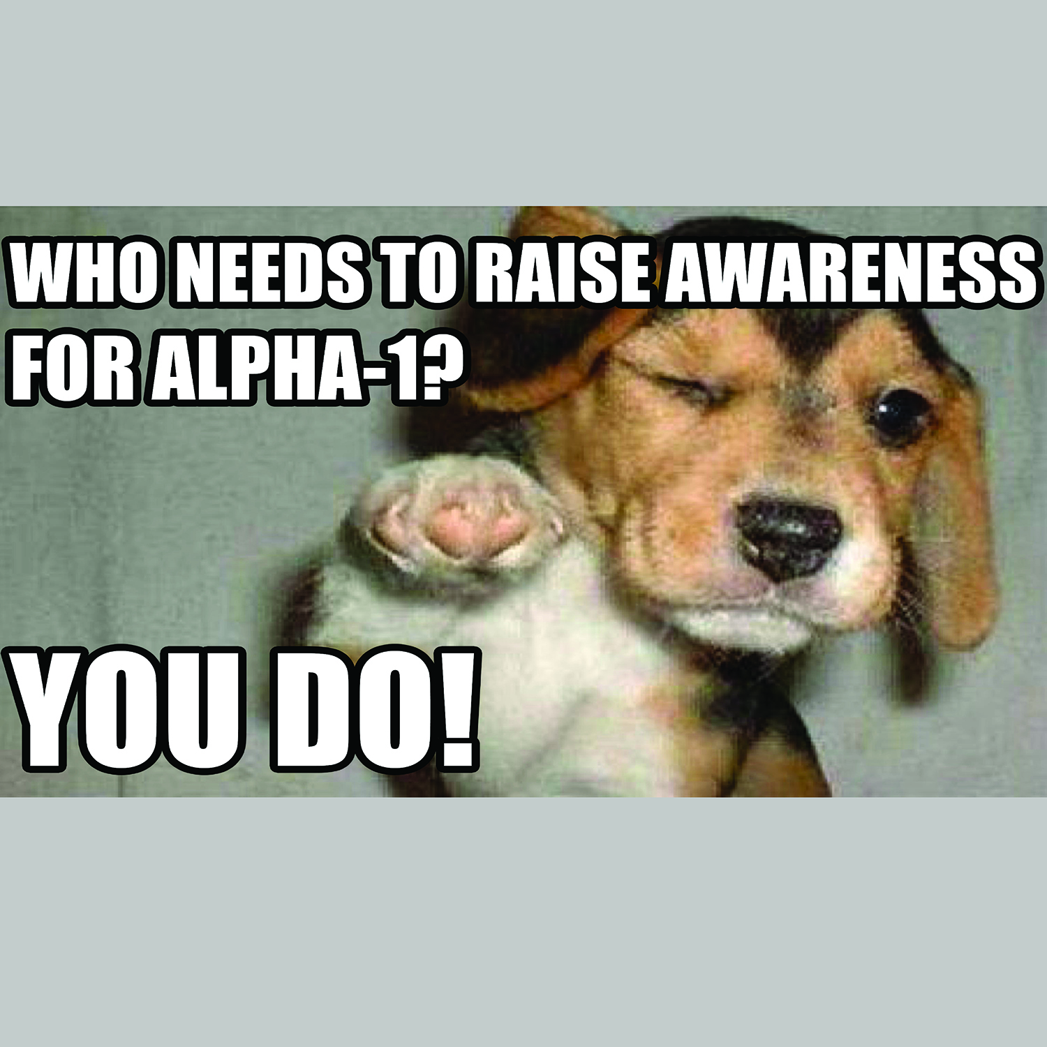 November is Alpha-1 Awareness Month