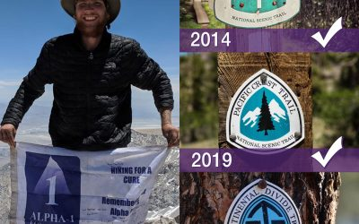 Jonathan Maidment goes for the Triple Crown of Hiking