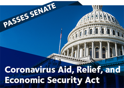 CARES ACT Bill (S.3548) passed by The Senate