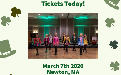 Don't be green with envy… Join us this Saturday for the 2020 Celtic Connection