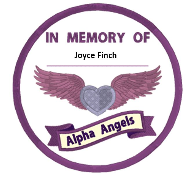 The Alpha-1 Foundation remembers Joyce Finch, one of the very first AlphaNet Coordinators