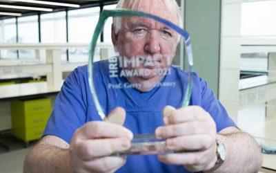 Professor Gerry McElvaney wins HRB Impact Award 2021